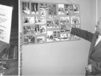 На черно белых снимках силачи земли Кольской. В их числе Сергей Ляпшин спортсмен, тренер, богатырь...