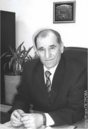 Директор депаратамента безопасности Анатолий Коломиец. 2010 год.